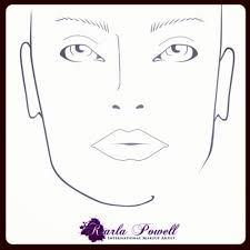 wow my own karla powell makeup design sheet to see why design sheets are important for