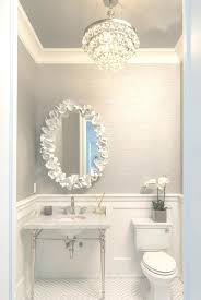 mini chandelier for bathroom small chandeliers for bathroom view of