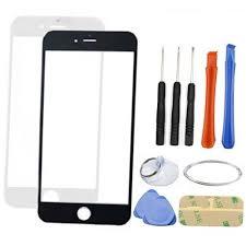iphone repair kit. iphone 6 plus screen replacement kit glass-blk/wht iphone repair s