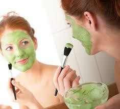 diy face masks avocado