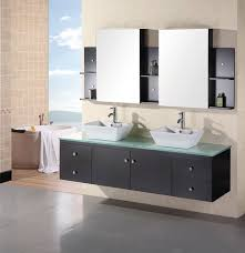 creative centra single 24inch modern wall mount bathroom vanity espresso