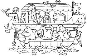 Small Picture Noahs Ark C Project For Awesome Noah Ark Coloring Page at Best All