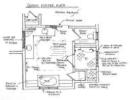 Surprising Small Bathroom Floor Plans With Tub - Master bathroom layouts