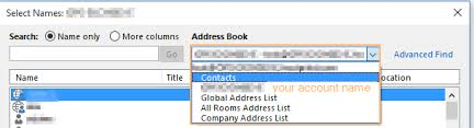 Why Do I See Additional Address Books In My Outlook Intermedia