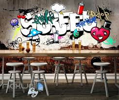 graffiti decals for walls graffiti street heart cherry wall murals  wallpaper wall art graffiti street heart