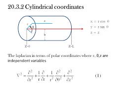 cylindrical coordinates