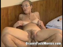 Old granny fuck ass