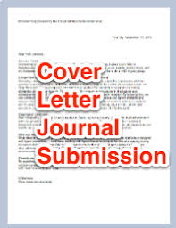 cover letter for scientific journal submission article cover letter