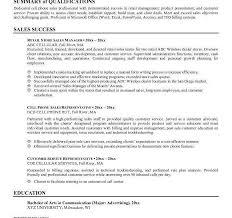 Awesome Resume Professional Summary Inspirational Sales Resume
