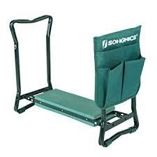 garden kneelers. Perfect Kneelers SONGMICS 2 In 1 Garden Kneeler Seat Static Loading Capacity Of 150 Kg  Foldable Steel Tube On Kneelers N