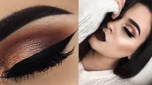 neutral eyes brown lips makeup tutorial