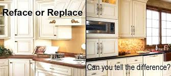 cabinet refacing vs painting. Wonderful Painting Lovely Cost Kitchen Cabinets Refacing Cabinet Prepossessing  Resurfacing Design Inspiration Per Linear Foot To Reface Of Vs Painting  And