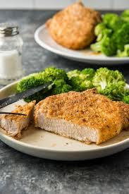 air fryer pork chops crispy and