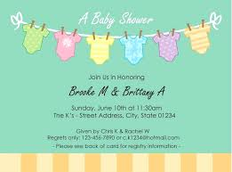 baby shower registry cards template free free baby shower invitation templates printable cards registry