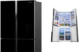 hisense hr6cdff512gb 512l french door fridge appliances