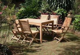 Folding Teak Wood Outdoor Furniture