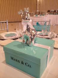 Table Setting For My Tiffany And Co Themed Baby Shower  Life Tiffany And Co Themed Baby Shower
