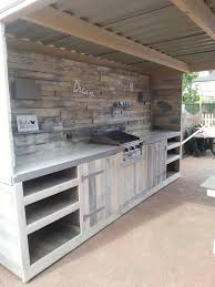 40 Best Outdoor Kitchen Ideas And Designs For 40 Interesting Wood Stove Backsplash Exterior