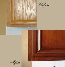 how to restaining kitchen simple restaining oak kitchen