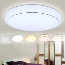 kitchen down lighting. Floureon®18W Round LED Ceiling Light,white/ Natural White/ Warm Night Light 4 Modes,3500k ~ 6400k Color Temperature Adjustable,about 3000 Lumens Kitchen Down Lighting
