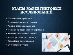 анализ маркетинговых исследований курсовая