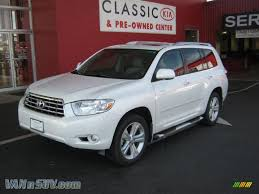2009 Toyota Highlander Limited 4WD in Blizzard White Pearl ...