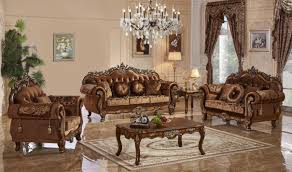 Traditional Furniture Living Room 692 Napoli Traditional Living Room Set In Cherry By Meridian