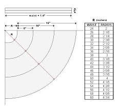 Circle Skirt Chart Three Tiered Skirt Skirt Patterns Sewing Circle Skirt
