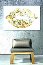 gold lips wall art gold lip wall art gold lips wall art gold lips canvas wall