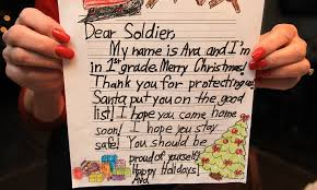 to solr with love holiday letter writing caign nets 25 000 from n j students nj