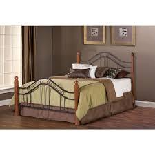 Hillsdale Furniture Madison Textured Black Queen Bed Frame-1010BQR ...