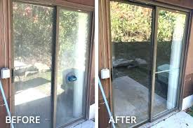 sliding glass door replacement cost furniture replaced patio