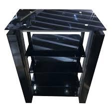 glass tv stand glass stand black glass tv stand argos