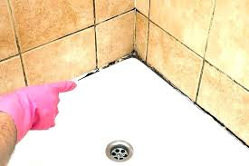 remove calk from shower how remove caulk fiberglass shower