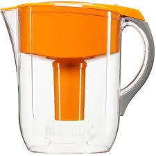 brita water filter pitcher. Brita 10-Cup Filtered Water Pitcher In Orange-6025835430 - The Home Depot Filter