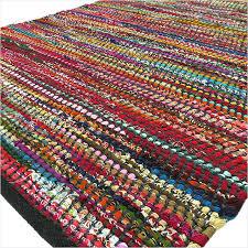 white rag rug black decorative colorful woven bohemian rag rug 3 x 5 to 5 x white rag rug