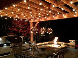 lighting for pergolas. outdoor kitchen with fire pit and pergola in deerfield il lighting for pergolas