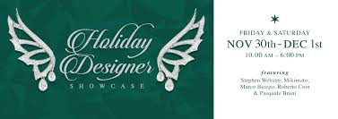Designer Showcase 2018 Zadok Holiday Designer Showcase 2018 Zadok Jewelers