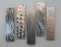 rectangular metal wall art