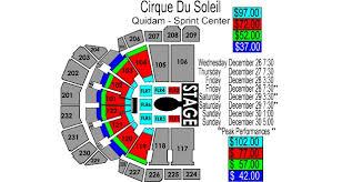 Circus De Soleil Seating Chart Cirque Du Soleil Quidam Sprint Center