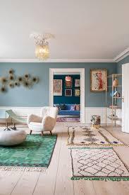 Blauw Interieur Woonkamer Woonkamer Romantisch Norges Decoratie Ideeën