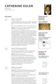 Adjunct Lecturer Resume samples