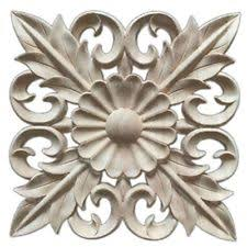 Appliques for furniture Rose 1x Rubber Wood Carved Floral Decal Craft Onlay Applique Furniture Diy Decor U4q9 Ebay Furniture Appliques Ebay