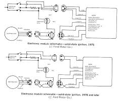electronic ignition the ford torino page forum page 1 here are a few diagrams 6 and 7 wire systems hope they help
