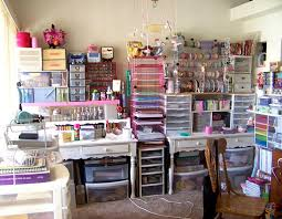 diy craft room storage