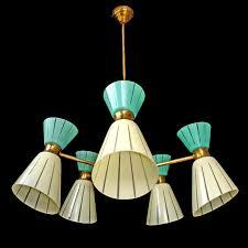 vintage lighting fixtures. Rare 10 Light Vintage 1960 MidCentury Italian Modernist Stilnovo Era Chandelier In Antiques Architectural U0026 Garden Chandeliers Fixtures Sconces Lighting