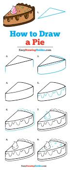 learn how to draw a pie easy step by step drawing tutorial for kids and beginners pie drawingtutorial easydrawing see the full tutorial at