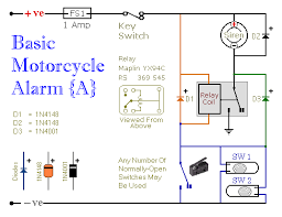 alarm relay wiring diagram alarm wiring diagrams