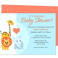Free Bridal Shower Invitations Templates Stunning Innovation Free Baby Shower Invitation Templates Word Bridal