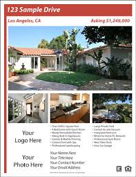 Real Estate Flyer Templates Free Emmamcintyrephotography Com